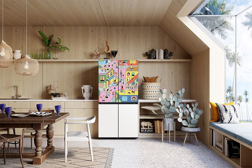 Samsung Showcases New Design Frontiers in Bespoke Home with Limited Edition Design Collaborations