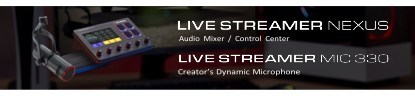 AVerMedia's Nexus Control Center and Dynamic Microphone 330