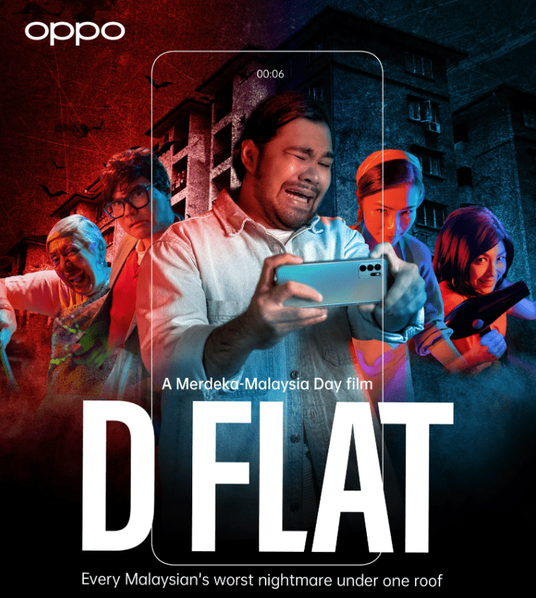 OPPO Captures the Merdeka & Malaysia Day Spirit with Thrilling Short Film - D Flat