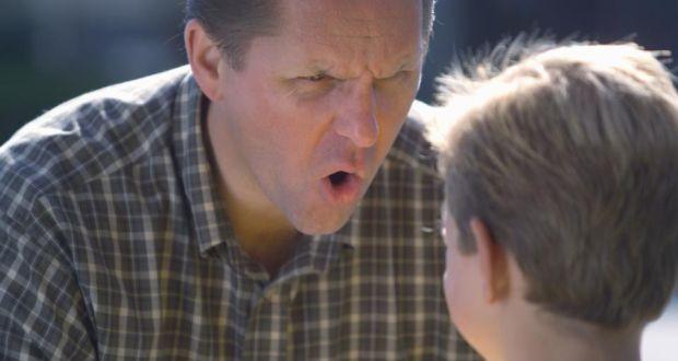 marahkan anak