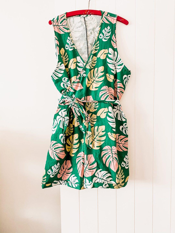 Zadie jumpsuit - sleeveless pattern hack - oh sew fearless