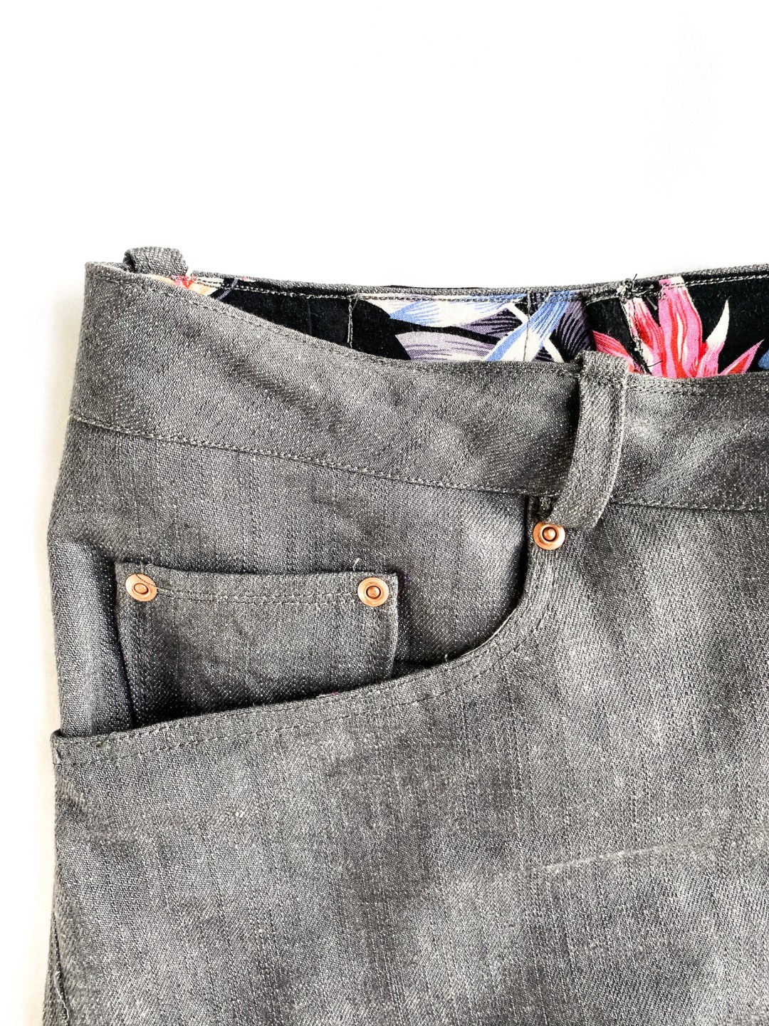 Halfmoon atelier 101 jeans - made by oh sew fearless