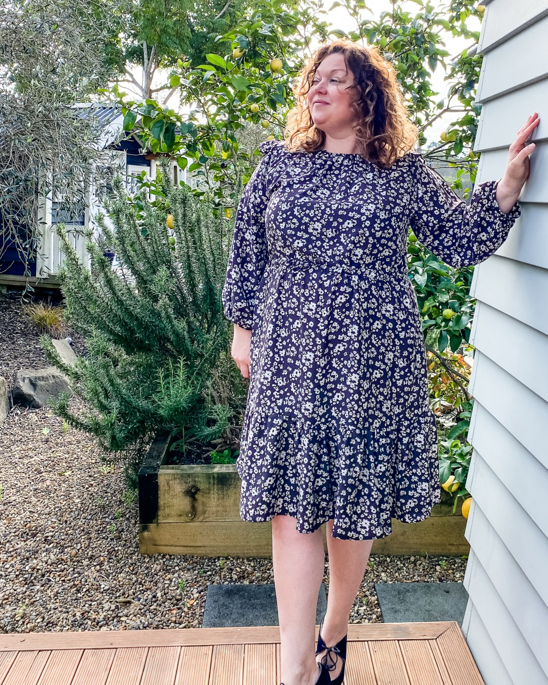 Friday Pattern Company Davenport Dress - Sewn by Oh Sew Fearless