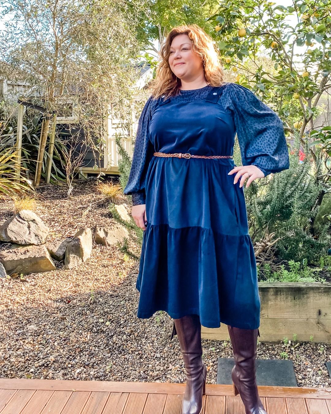 THE WINTER HACK GRACE DRESS PATTERN