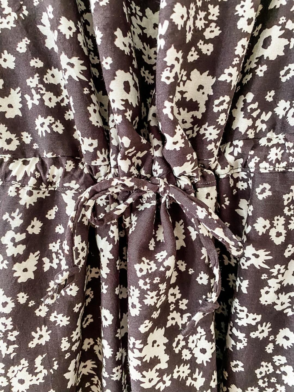 Davenport Dress tie waist