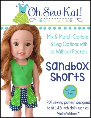 wellie wishes sewing patterns by oh sew kat 18 inch dolls animators