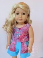 Oh Sew Kat! Popsicle Top and Sandbox Shorts PDF Sewing patterns