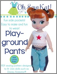 OSK Playground Pants Cover ANI