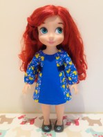 Oh sew Kat school dance dress for animator dolls pdf doll clothes sewing pattern for doll dress