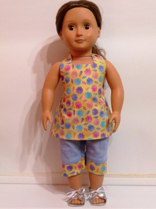 Boardwalk Boutique pattern by Oh Sew Kat sewn by Jenny Swan 3