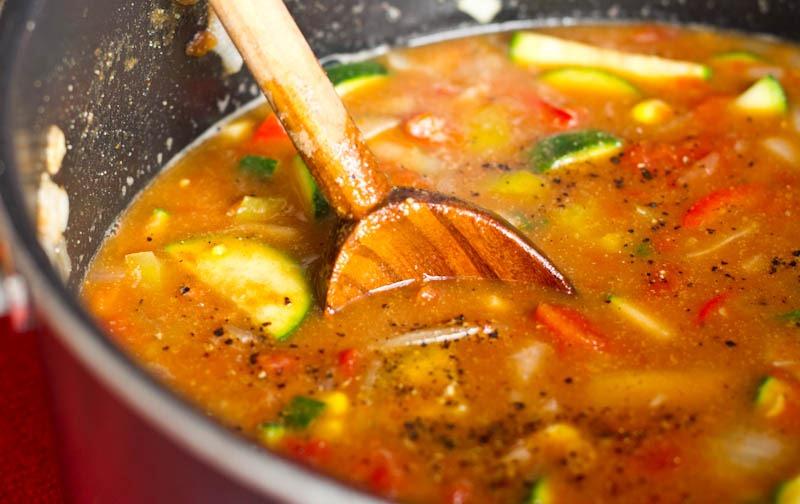 oppskrift på vegansk suppe