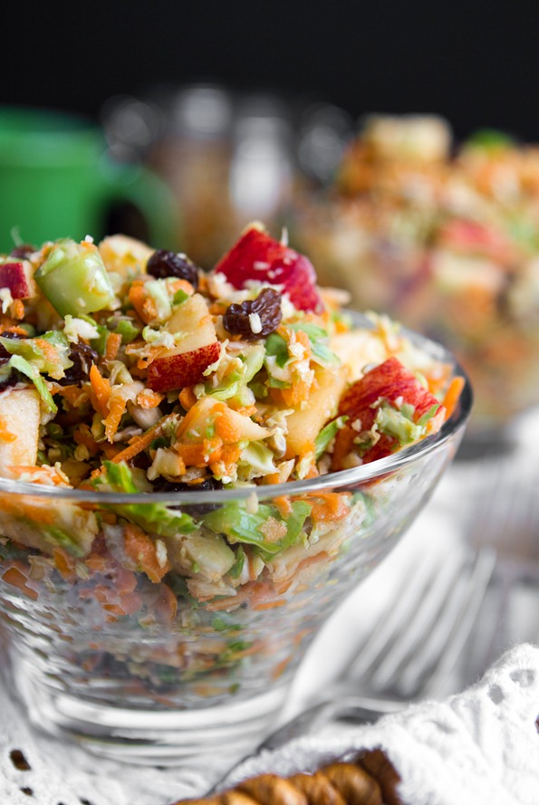 fall detox salad 7422 thumb   Fall Detox Salad + Hurricane Sandy Fundraiser Update