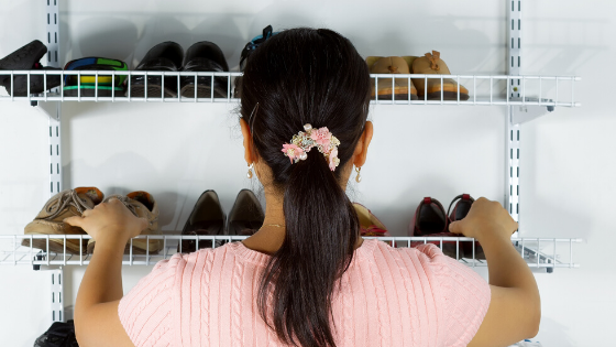 8 of the best thrift home organization ideas: How I organize my home with thrifted items