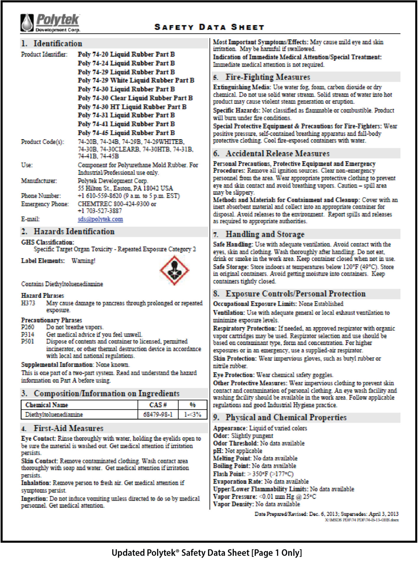 Whmis Understanding The New Safety Data Sheets