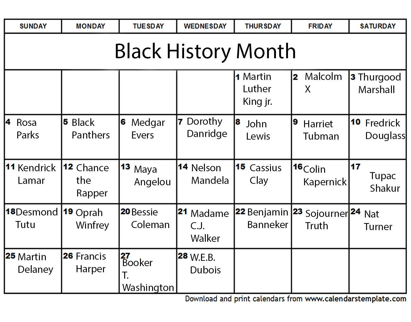 Black History Appreciation Magnet