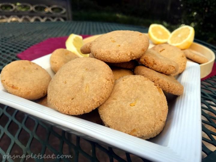 Easy Lemon Cookies (Paleo, Gluten Free, Vegan)