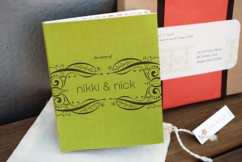 Hardcover Wedding Invitation Book