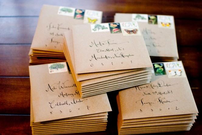 Alyson Levi S Vintage Botanical Wedding Invitations