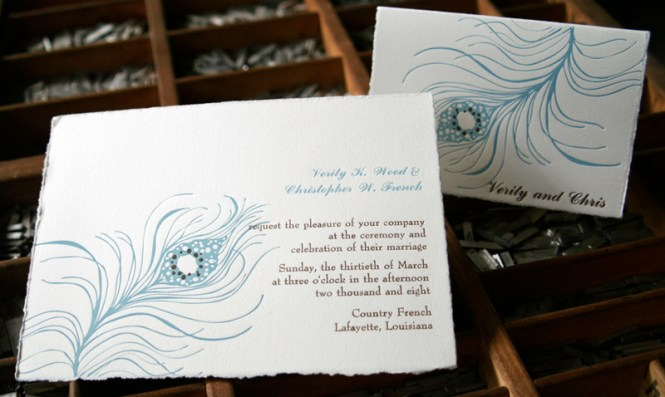 A Forest Inspired Invitation Suite For Wedding In The Ozarks
