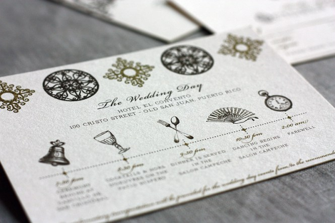 Ireland Wedding Events Card