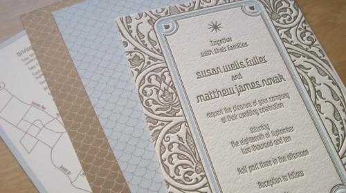 Art-Deco-Wedding-Invitations-Blue-Brown