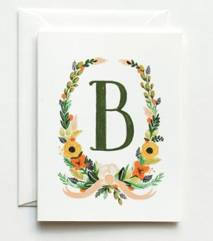 Rifle-Paper-Co-Handpainted-Monogram-Note-Cards