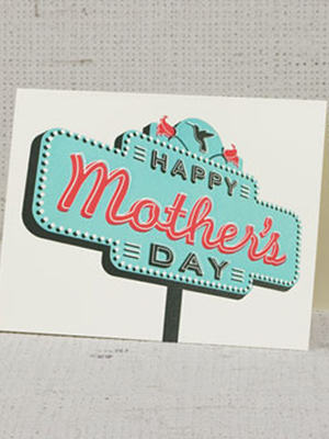 Hammerpress Mothers Day Card