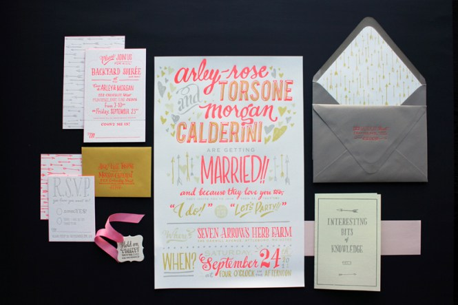 Wedding Card Design Gray Rectangle Paper Contemporary Layout Recommended Best Rsvp Size Creation