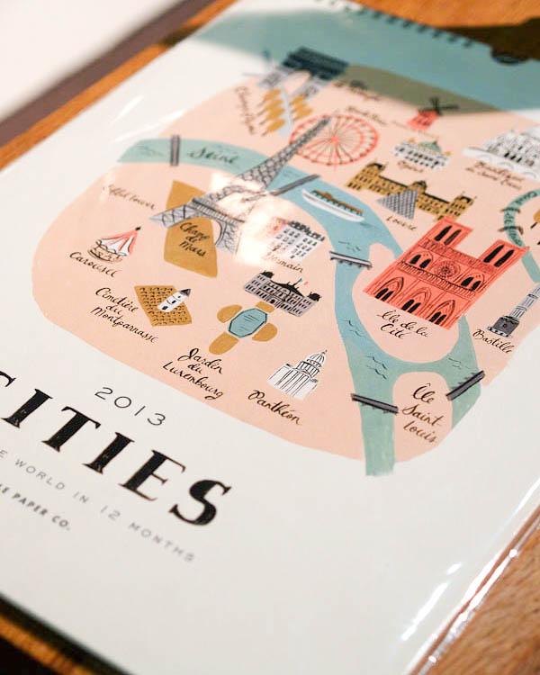 Calendario de ciudades