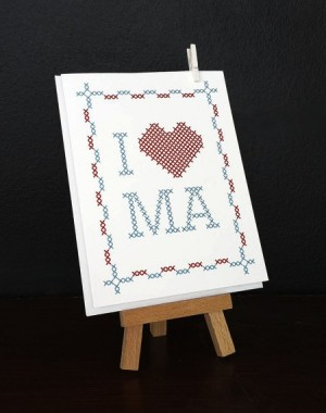 Studio Wicked Cross Stitch Mothers Day Card 300x380 Mothers Day Cards, Part 3