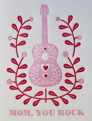 mom you rock dutchdoorpress 300x393 Mothers Day Cards, Part 2