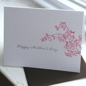 mothersday dogwood card thepaperpeony 300x300 Mothers Day Cards, Part 3