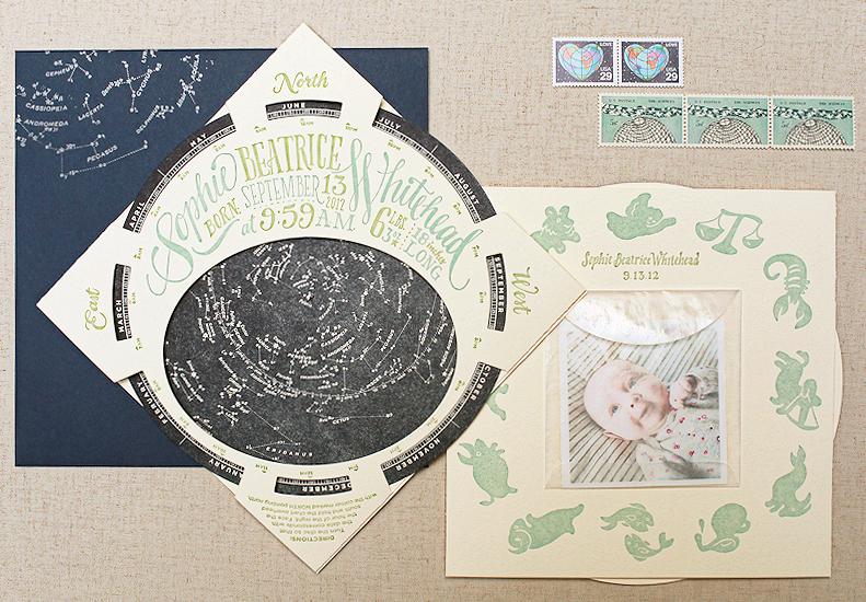 Sophies Constellation Starfinder Birth Announcements