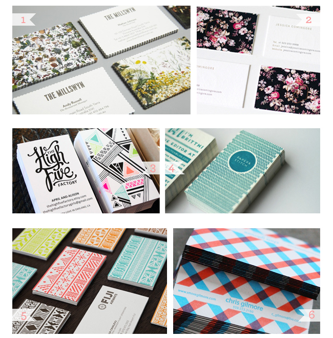 1x1.trans Business Card Ideas and Inspiration #13 | Pattern Play