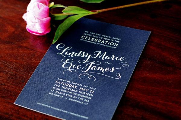 5 Elegant Wedding Invitations