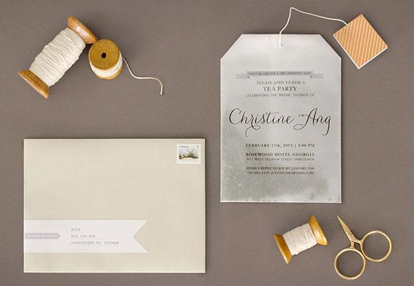 Bridal Shower Tea Party Invitations Erfly Alexiz Best Sample Genereral