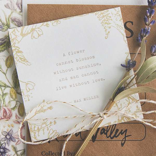 Bohemian Fl Wedding Invitation Suite