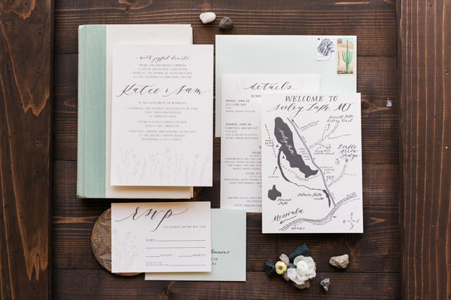Nature Wedding Invitations