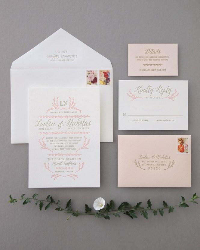 A K In To The Studio Watercolor Venue Ilration Letterpress Wedding Invitations