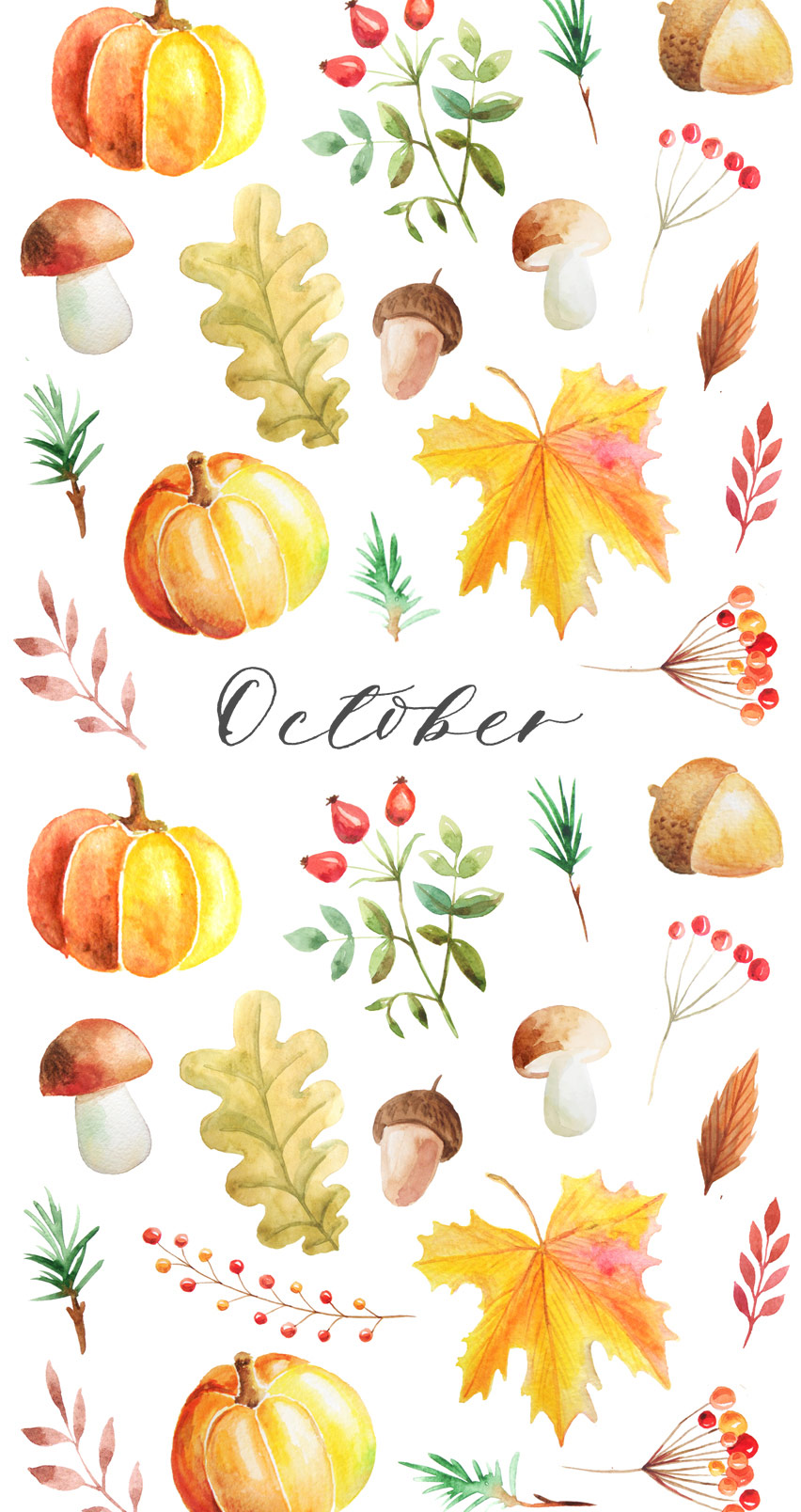 Fall Wedding Background