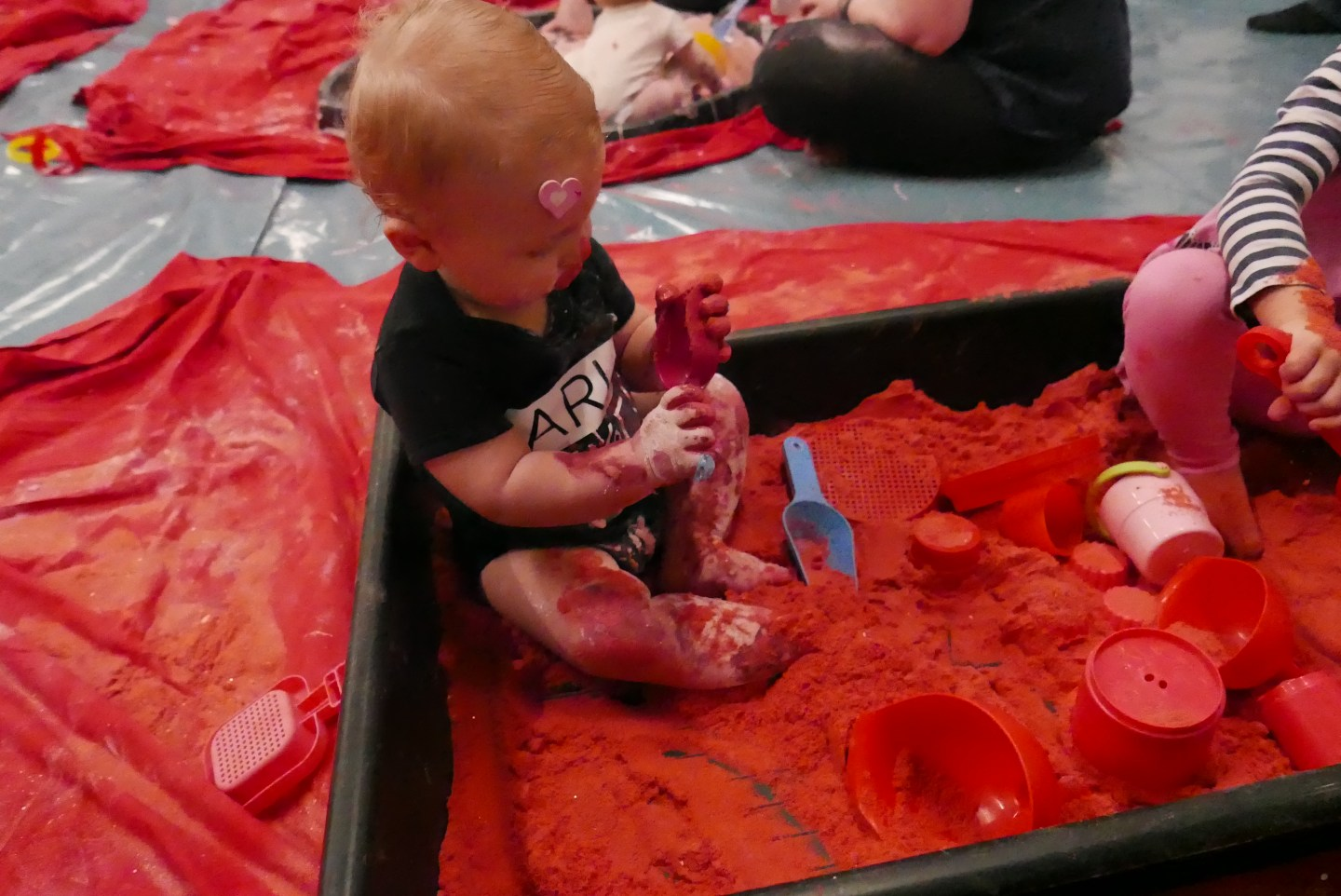 messy play messy monkeys coloured sand
