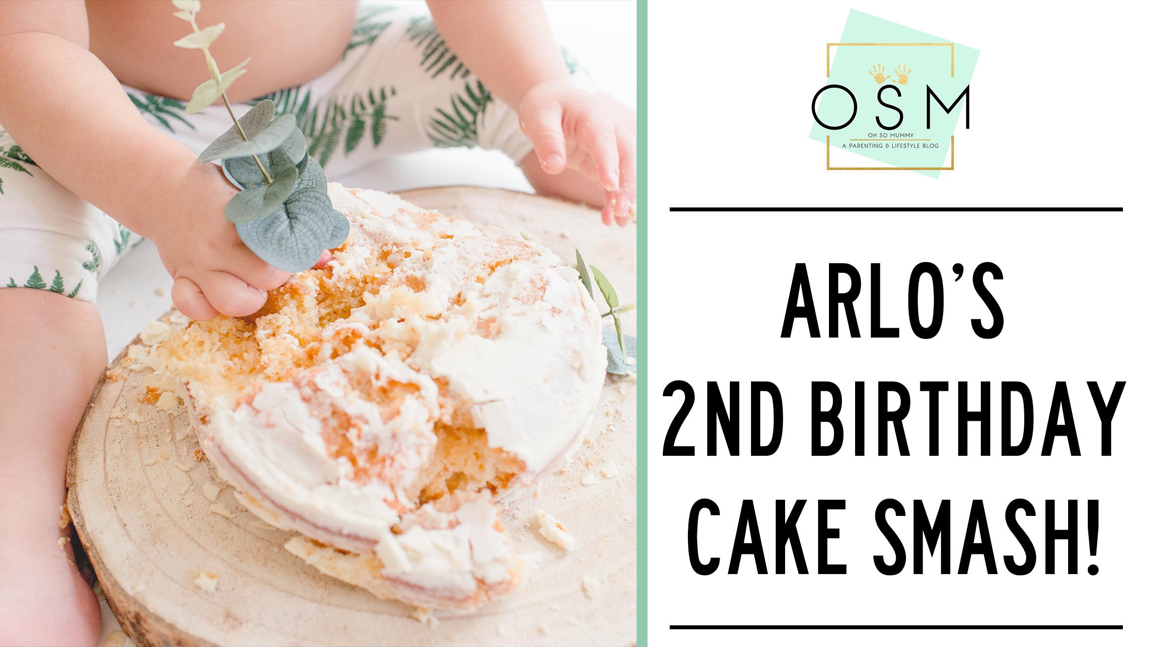 Admirable Arlos 2Nd Birthday Cake Smash Oh So Mummy Funny Birthday Cards Online Hetedamsfinfo