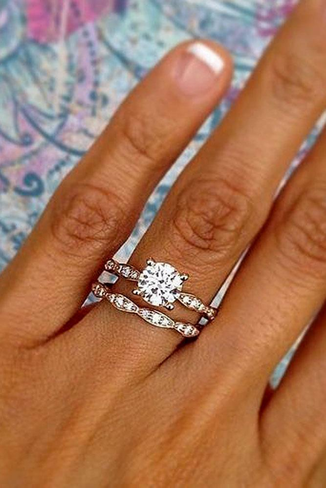 18 Excellent Wedding Ring Sets For Beautiful Women Oh So