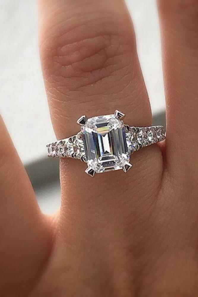 36 Emerald Engagement Rings For A Perfect Finger Oh So