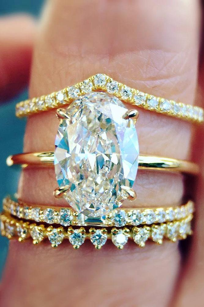 18 The Best Yellow Gold Engagement Rings From Pinterest