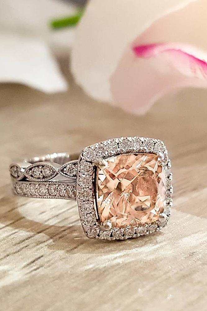 36 Cheap And Stylish Morganite Engagement Rings Oh So