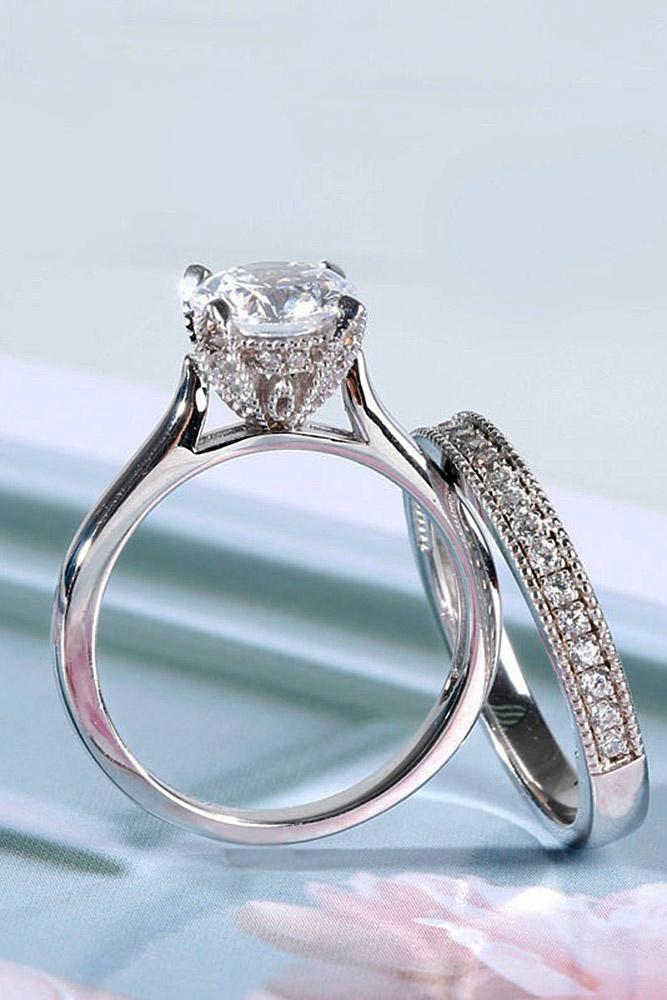30 Timeless Classic Engagement Rings For Beautiful Women Oh So Perfect Proposal