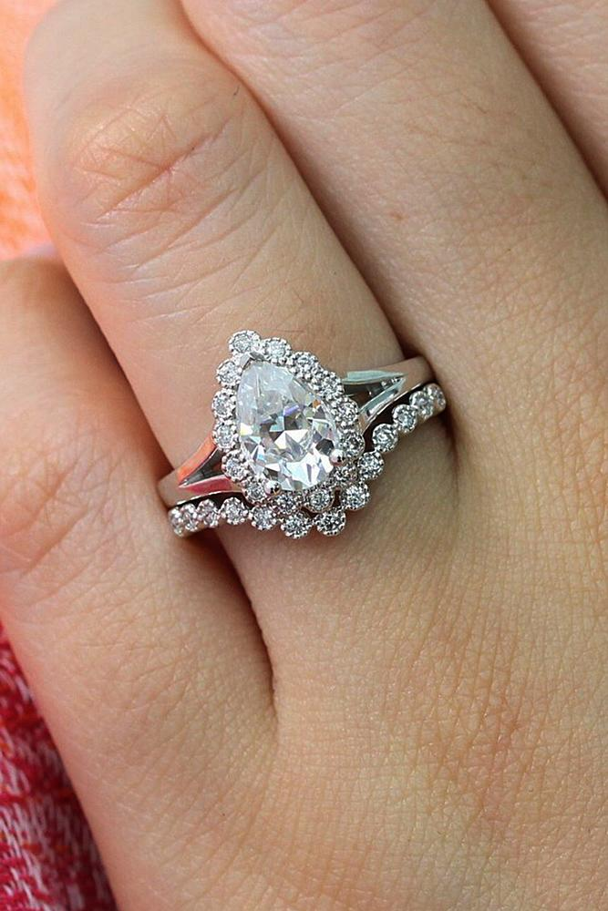 36 Beautiful Wedding Ring Sets For Your Girl Oh So