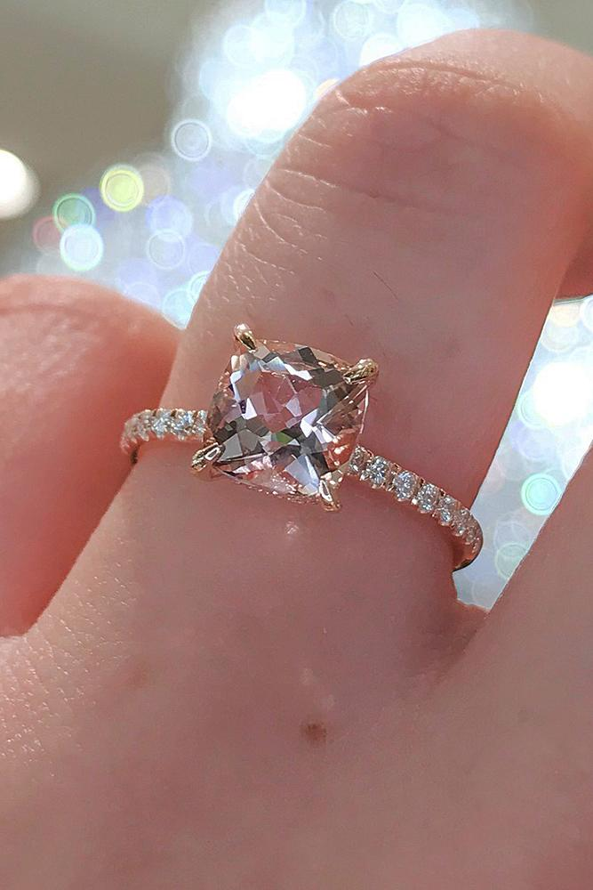 18 Rose Gold Solitaire Ring Ideas For Tender Girls Oh So