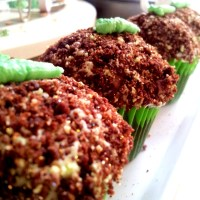 St Patricks Day: After Eight Stuffed Cupcakes